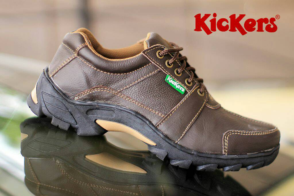 kickers corvette gear brown kulit