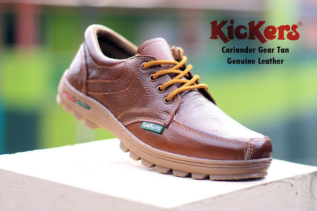 kickers coriander gear tan kulit