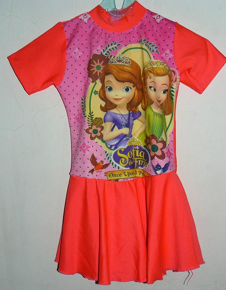Jual Baju Renang Anak Frozen Model Celana Rok Ukuran Sd