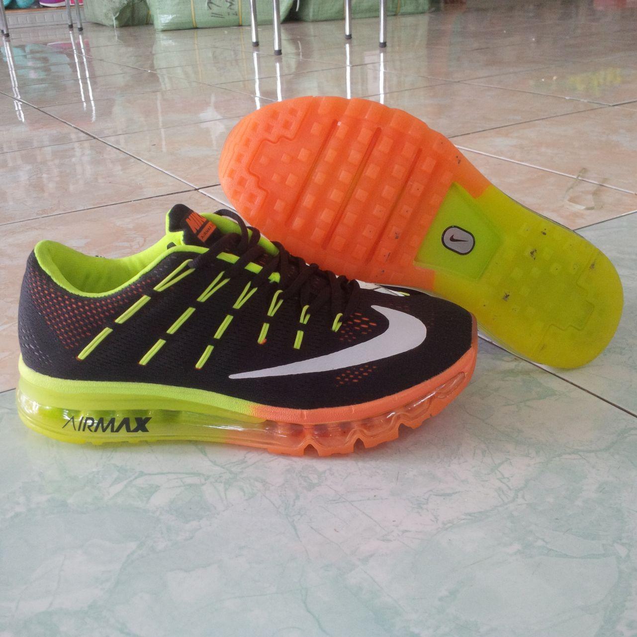 terbaru sepatu nike airmax nike fitsole full tabung army forman NK994