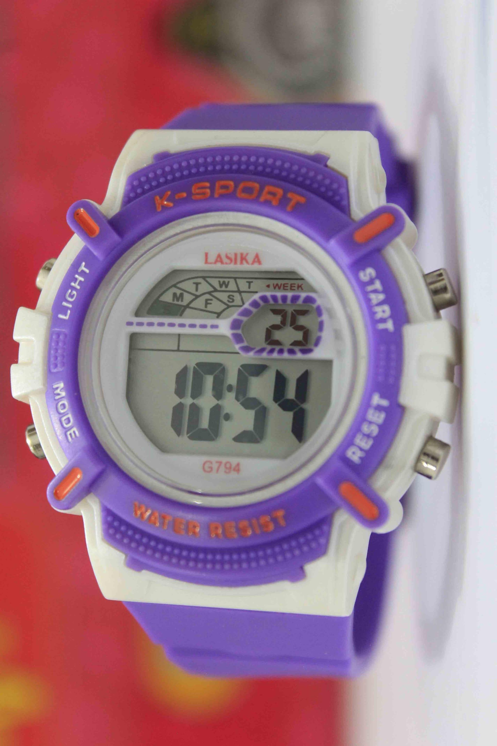 Jual jam tangan anak perempuan umur tahun kelas sd anti air original unik .