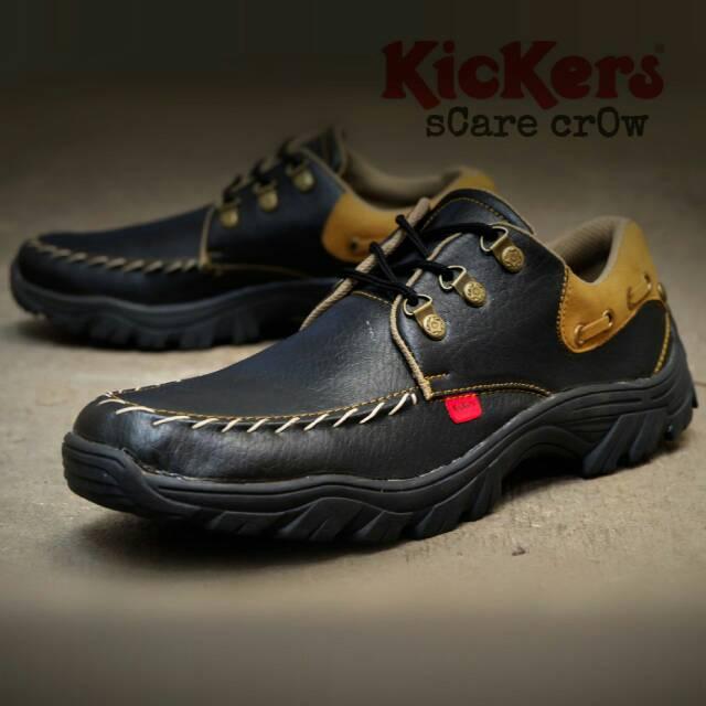 sepatu kickers scare crow black