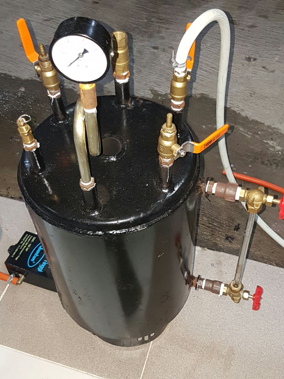 Tabung Boiler Setrika Uap