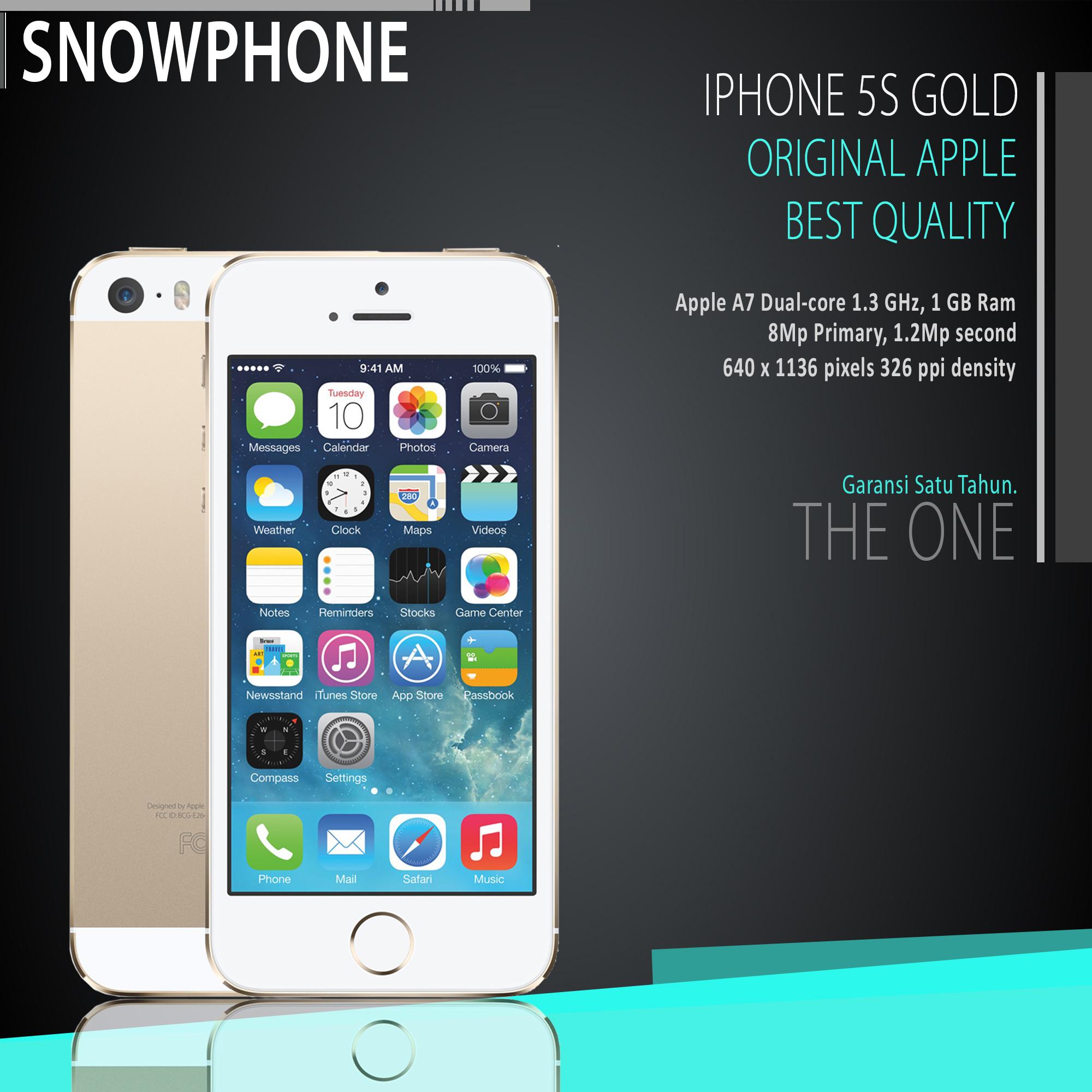 Iphone 5s Gold 16gb Garansi 2 Tahun Spec Dan Daftar Harga Terbaru 6 Distributor 1 Thn