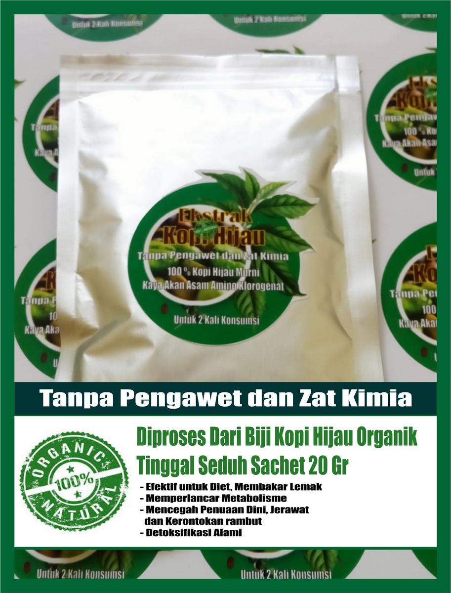Jual Ekstrak Kopi Hijau Pelangsing Diet Alami Fat Burner Green Coffee Greenkopi Tokopedia