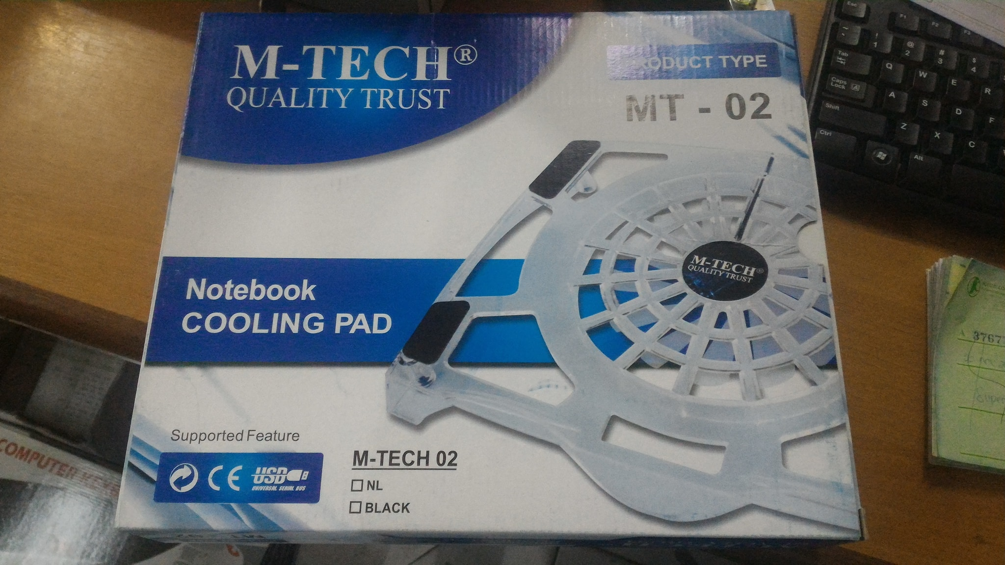 Cooling Pad Kipas Pendingin Notebook Laptop M Tech Mt 02 Daftar Bigfan Coolerpad Nc33 Jual 1 Fan Solusi Computer Tokopedia