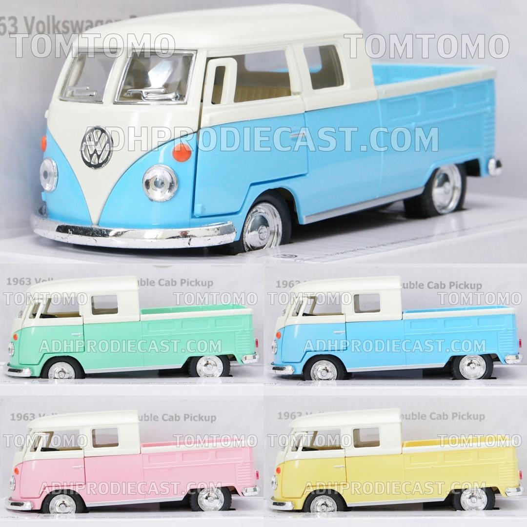 VW Bus Kombi Pickup Diecast Miniatur Mobil Mobilan Klasik Mainan Anak