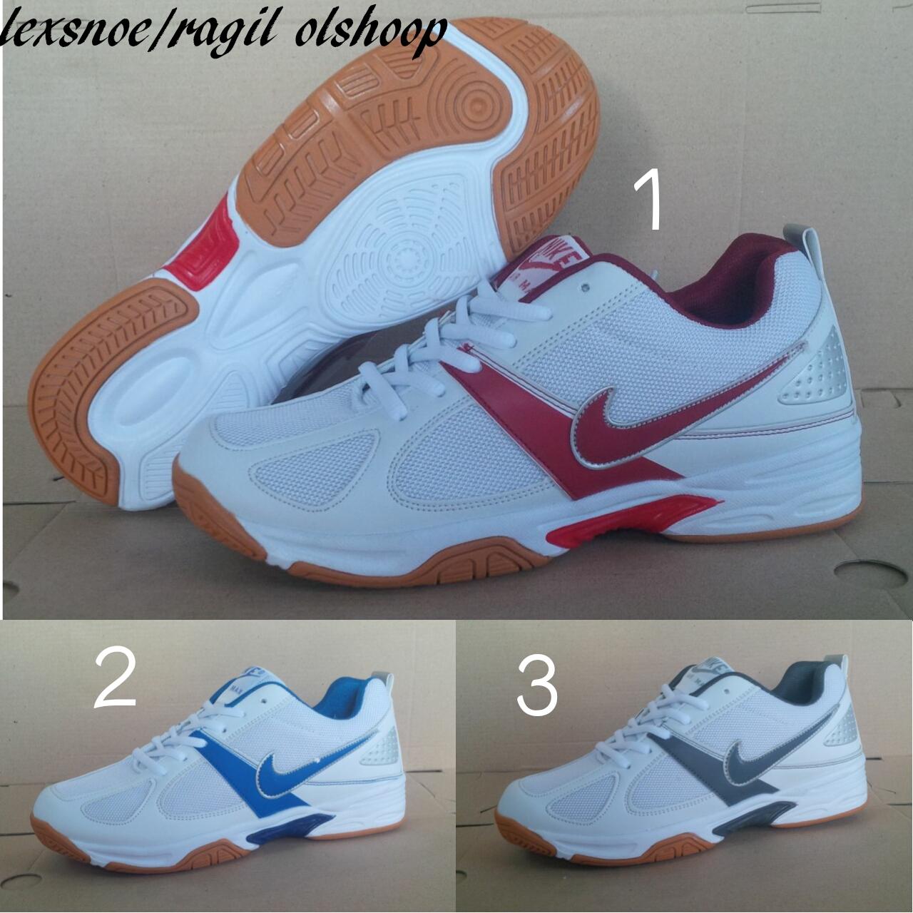 sepatu pria nike tenis sepatu tenis badminton dan olahraga A09