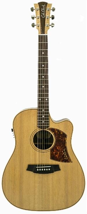 Gitar Akustik Elektrik Cole Clark Australia Fatlady Fl2ec-cre