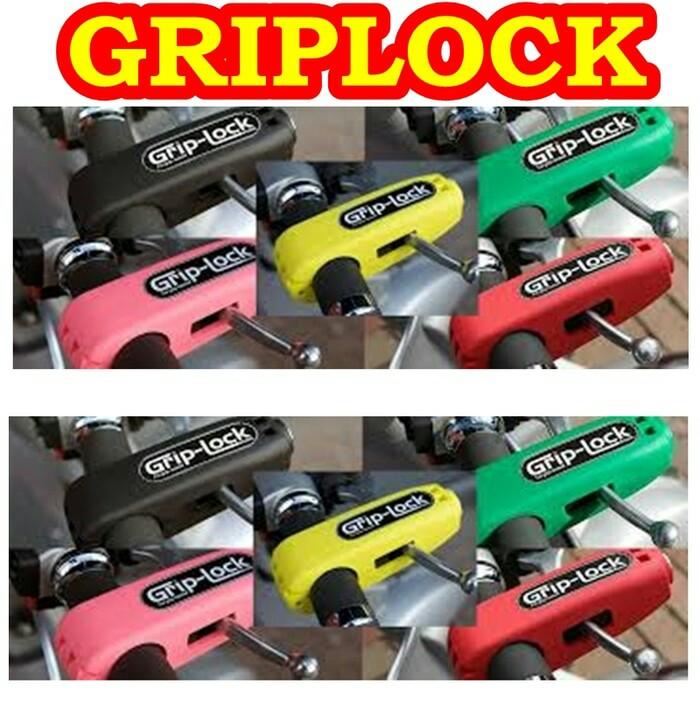 Griplock Kunci Pengaman Motor Stang / Stir Grip Lock