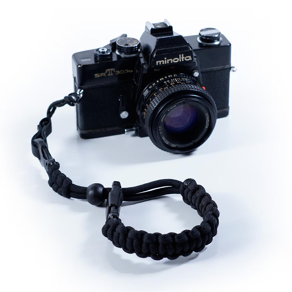 Koma Black Marka Camera Wrist Strap Keren Accesores Kamera Murah Unik