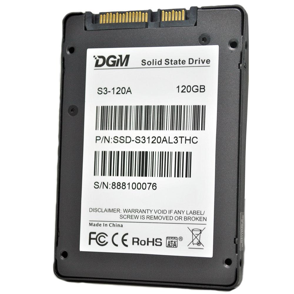 DGM Prestige Pro 2.5-Inch 120GB SATA III Solid State Drive - S3-120A