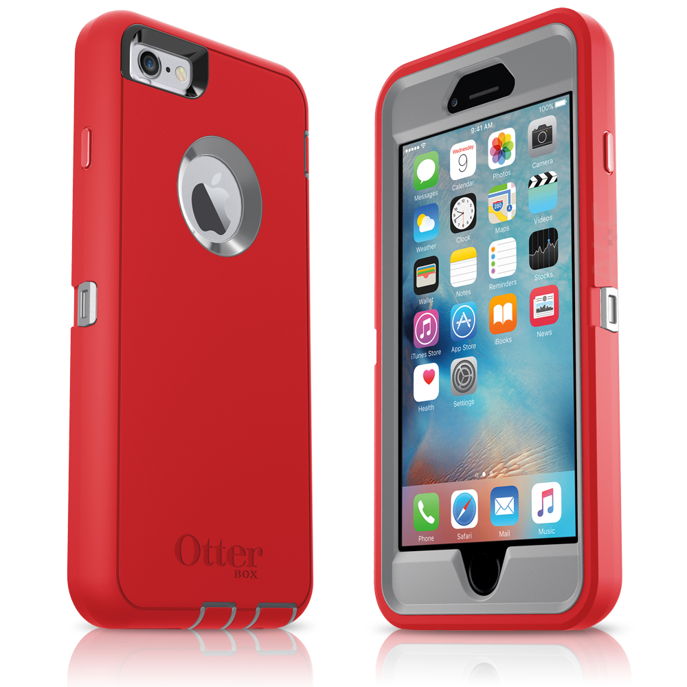 quality design 50443 0e9d0 Jual Otterbox Defender Series for Apple iPhone 6/6s, Fire Within [77 ...