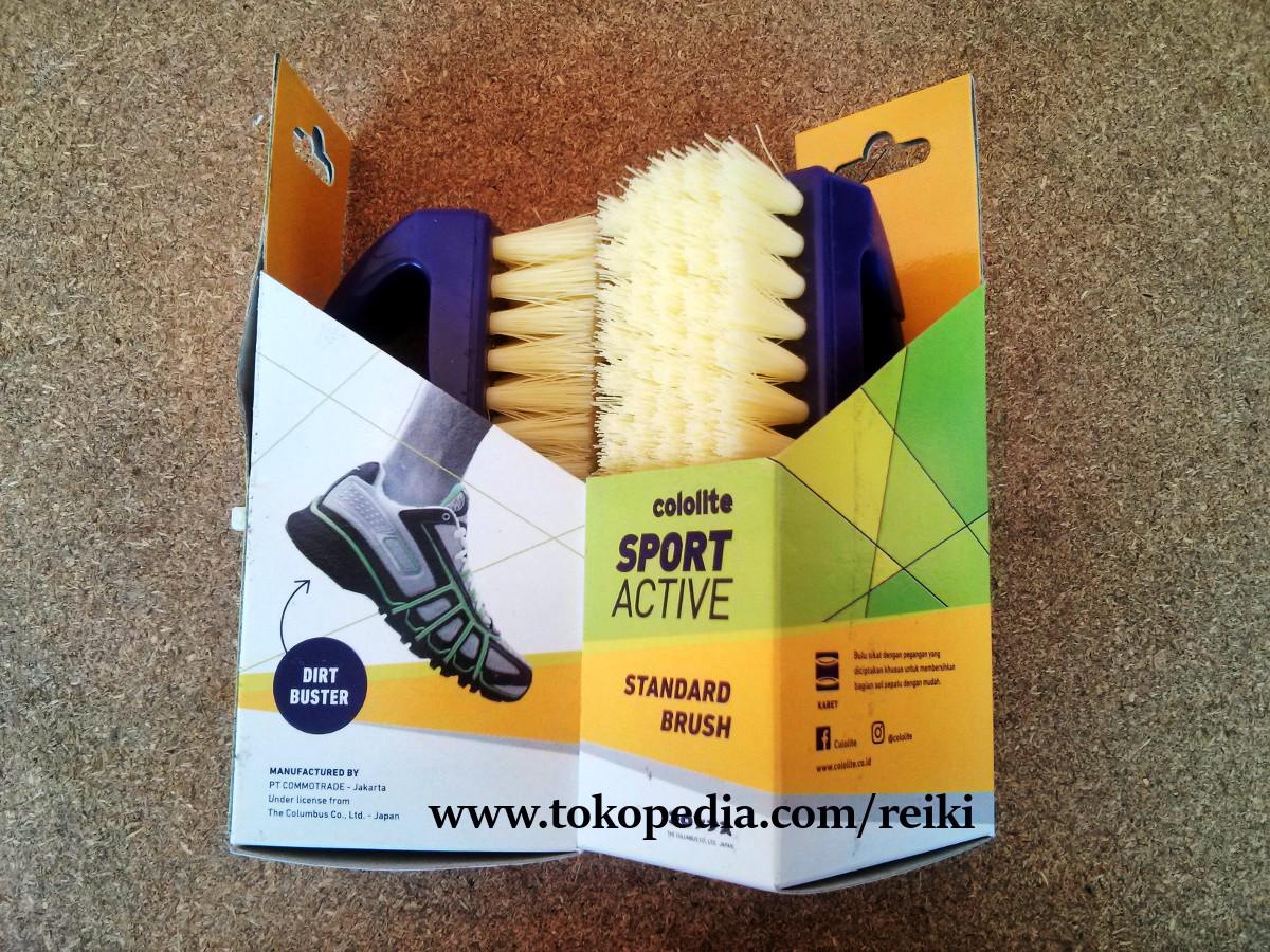 Jual Cololite Standart Brush Sikat Sepatu Reikiri Asika Tokopedia Sport Shoes Cleaner