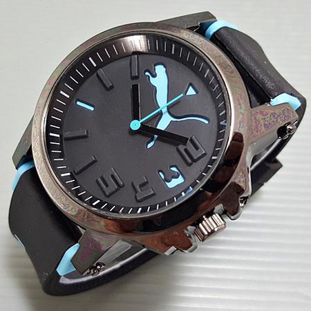 Puma Ultrasize Rubber Black Blue Best Quality