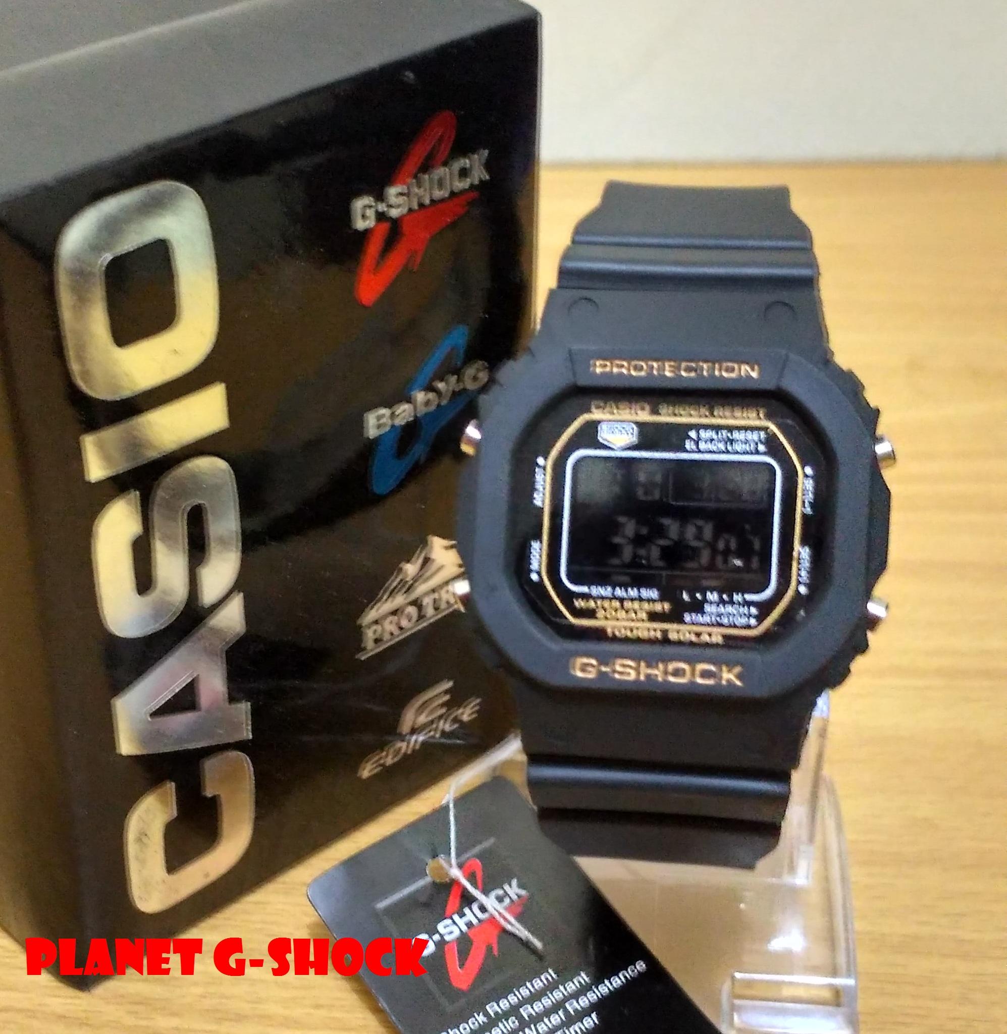 TREND!! G Shock 'GLS-5600' BLACK GOLD Berkualitas