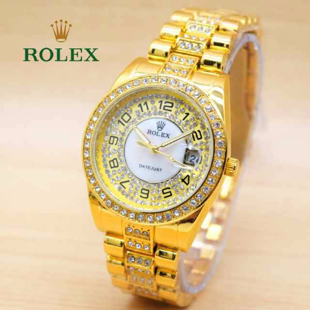 Hot Item Jam Tangan Cewek / Wanita Rolex R112