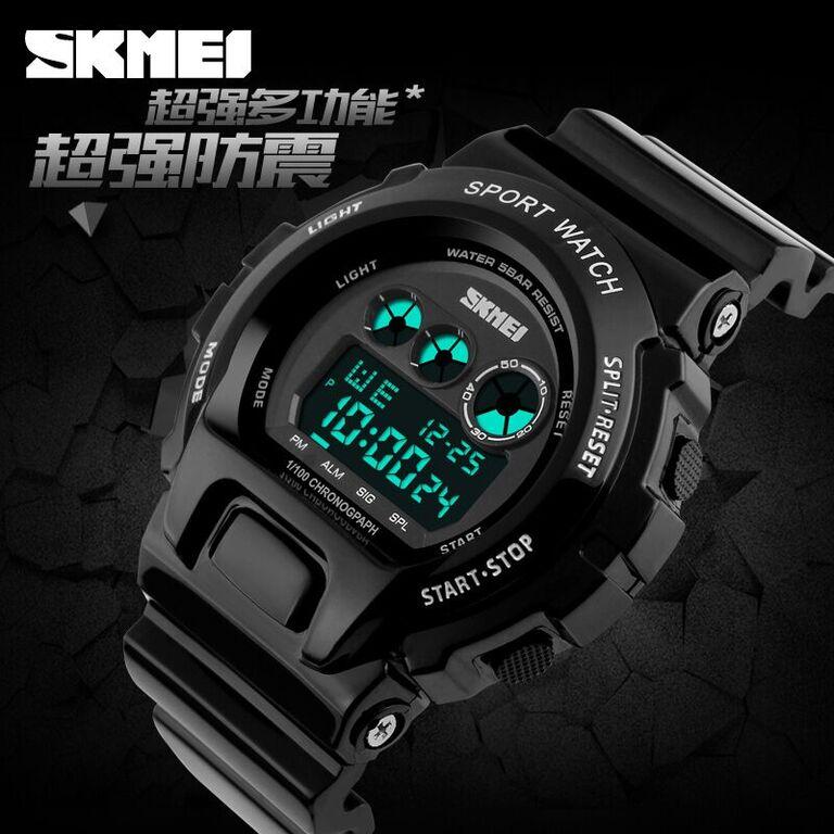 SKMEI S-Shock Sport Watch Water Resistant 50m - DG1150 Diskon