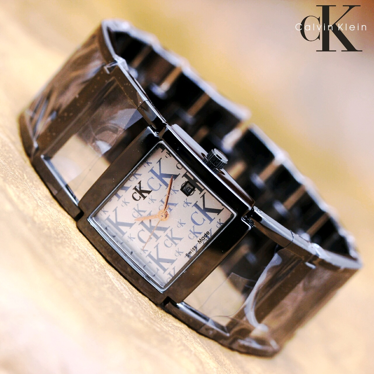 Jam Tangan Wanita Calvin Klein 020 Semi Premium + Box Kancing