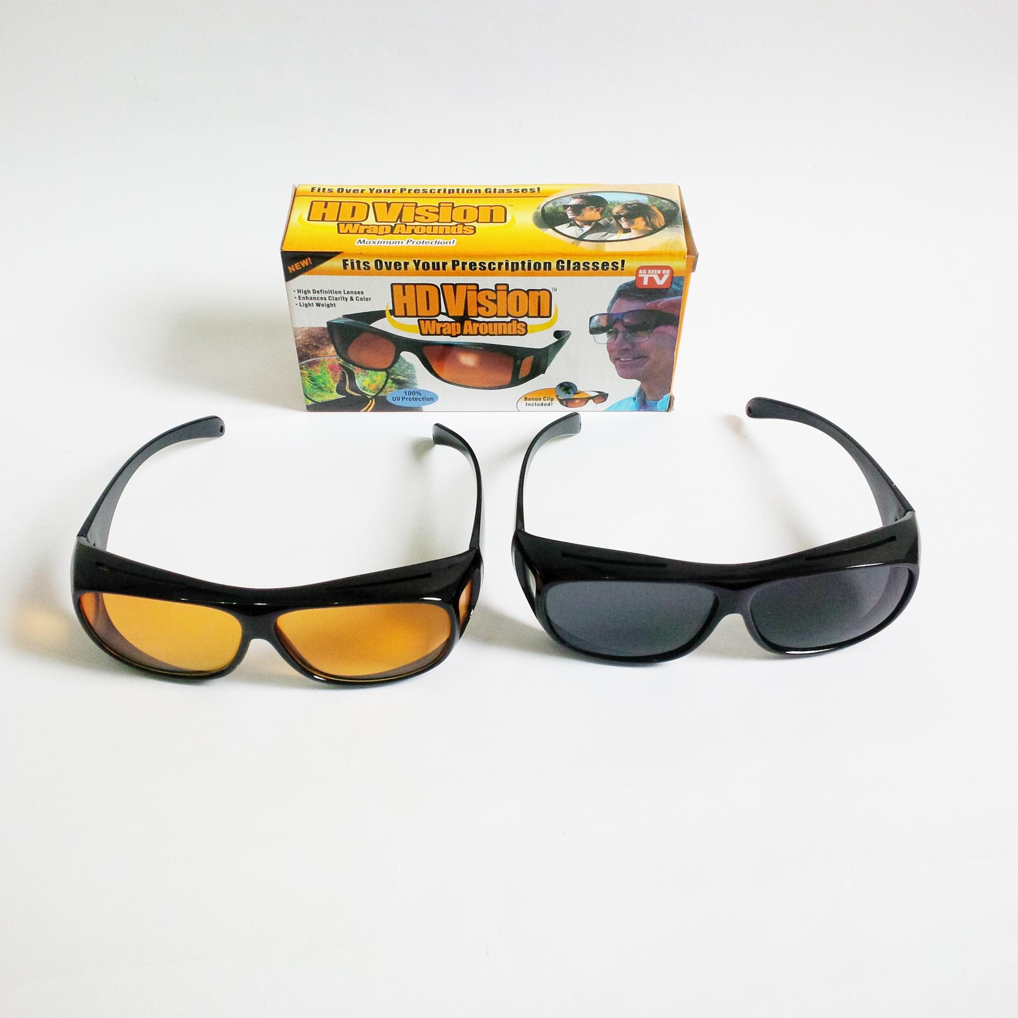 Jual Kaca Mata Hd Vision Obtain Di Tokopedia Sunglasses Isi 2 Pcs Kacamata Sunglass Wrap Arounds
