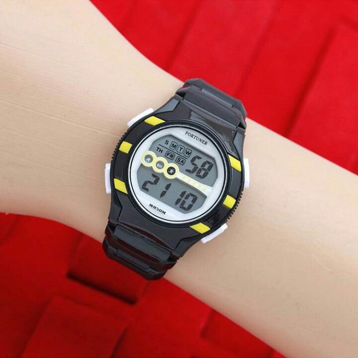 Jam Tangan Wanita / Cewek Fortuner FR3060 Original Rubb 02125