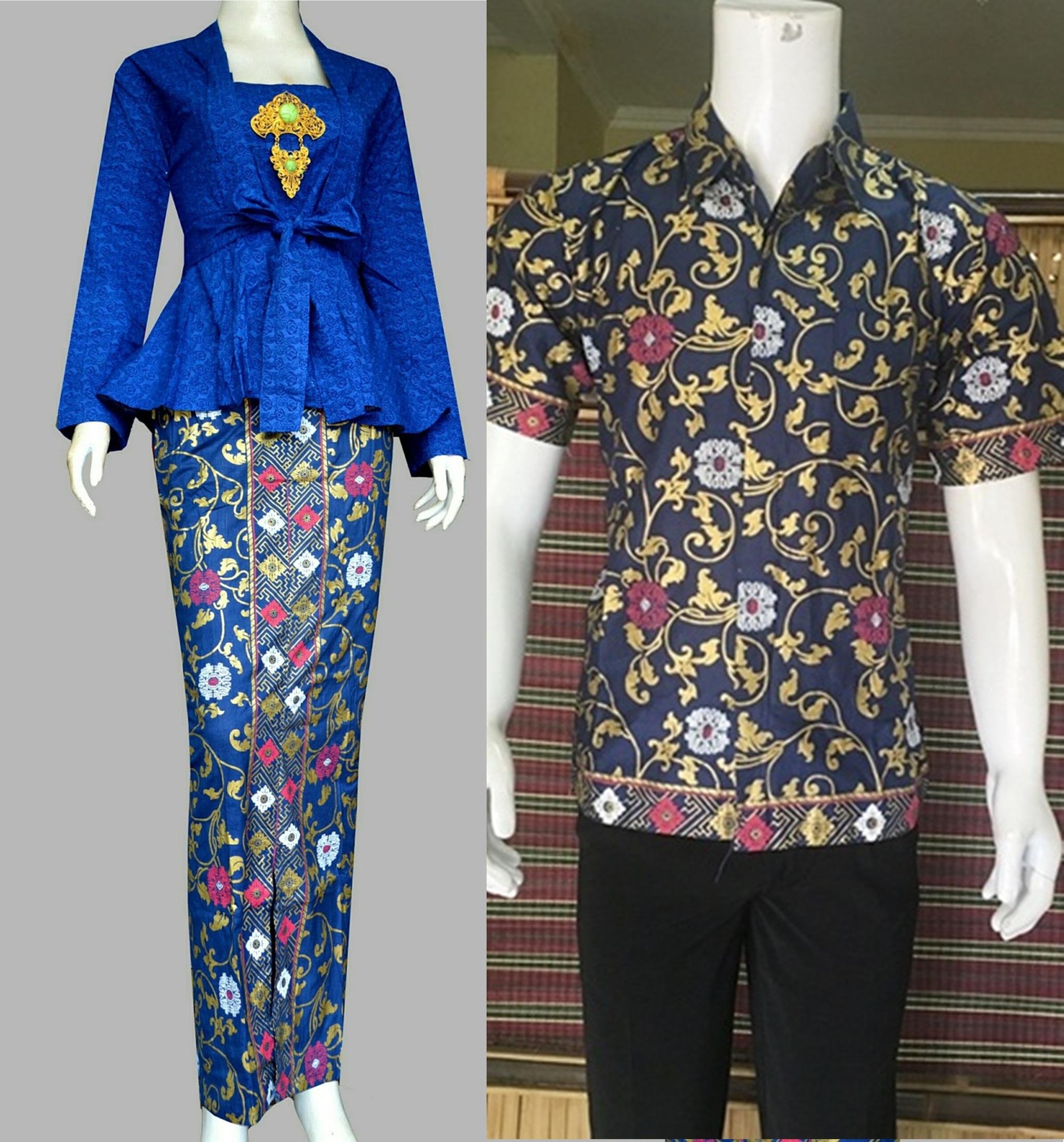 116 Gambar Sketsa Baju Batik Modern Gudangsket