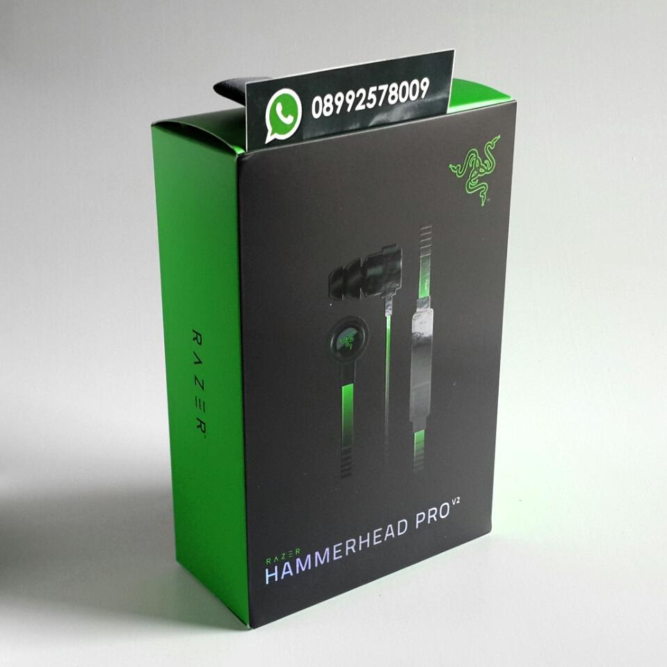 Jual Razer Hammerhead Pro V2 OEM Gaming Headphones - Dota 2 Merchandise Store   Tokopedia