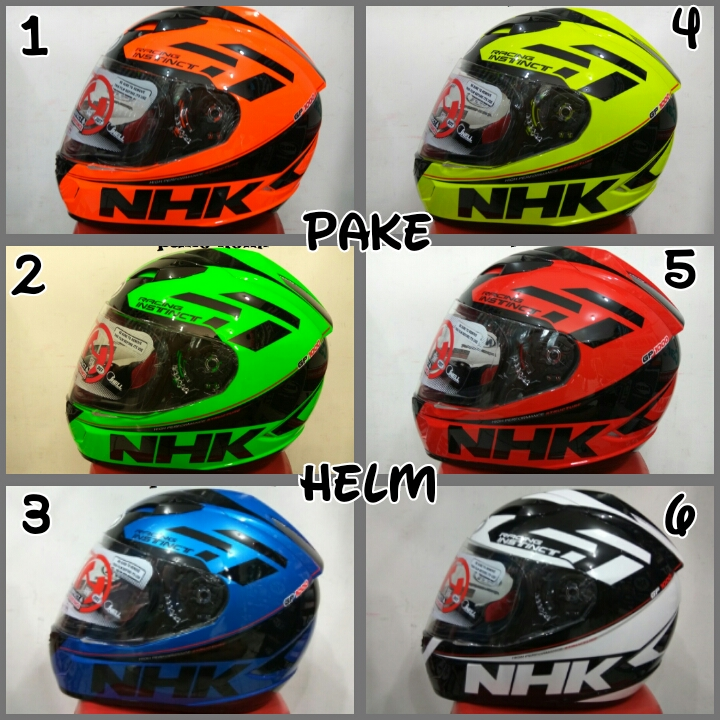 Jual HELM NHK GP 1000 RACING INSTINCT SE FULL FACE GP1000