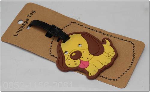 NAME TAG KOPER KARET DOG (09901122B)