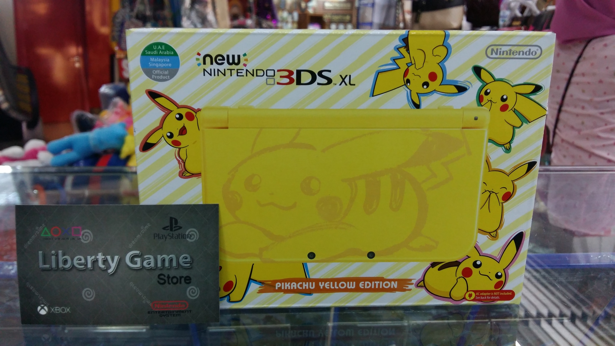 Jual Nintendo New 3ds Xl Pikachu Limited Edition Yellow Us Asia Suyanto Liberty Game Tokopedia