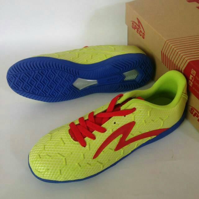 Jual Sepatu Futsal Specs Cyanide Tnt In Toxic Green Original Murah ... d2c5dc76dc