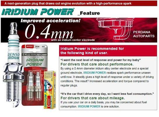 Busi Triump Bonneville T100 - DENSO Iridium Power IX24B Limited