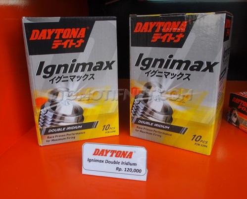Busi DAYTONA Double Iridium 3398 / C6HSA / C7HSA Berkualitas