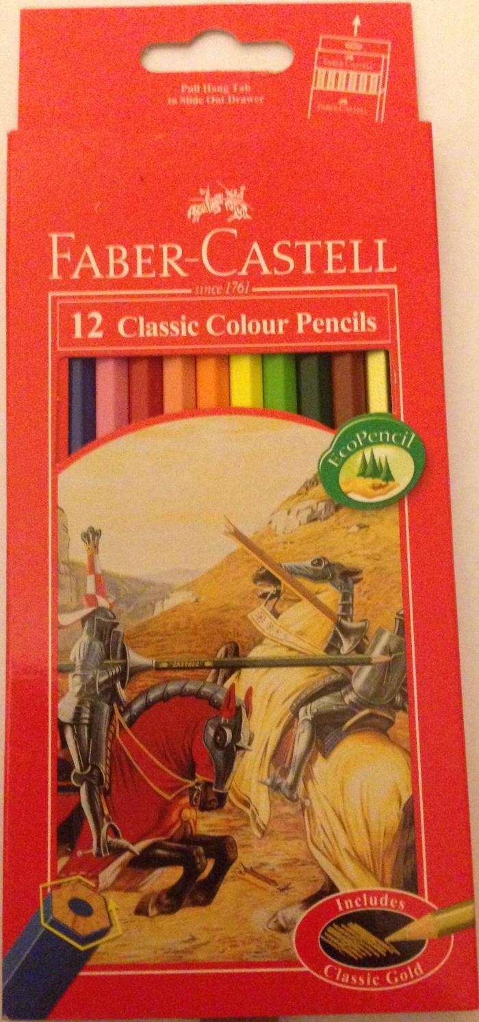 Pencil - Faber Castell - 12 Classic Colours (Art No 115852)