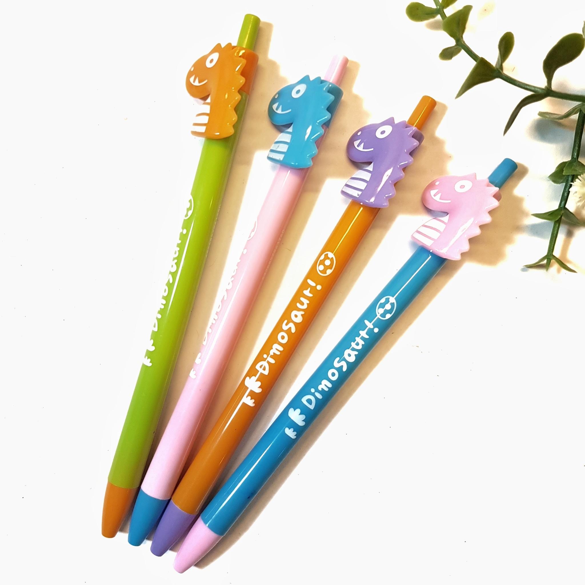 Alat Tulis | Pensil Mekanik | Pensil Ketik Dinosaurus Cute Pencil