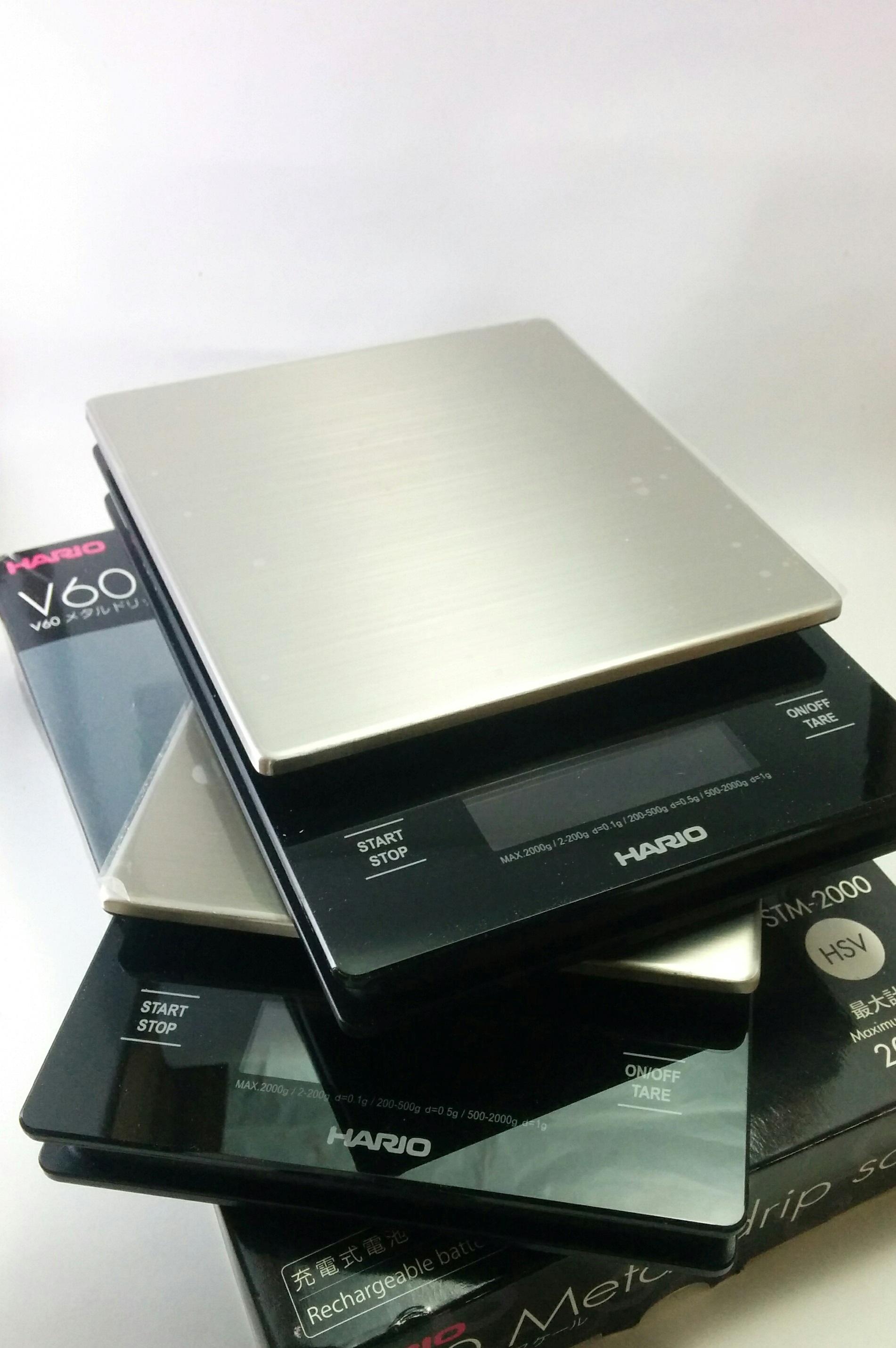 Jual Hario V60 Metal Drip Scale Timbangan Kopi Terbaik High Vstm 2000hsv Quality Coffee Tokopedia