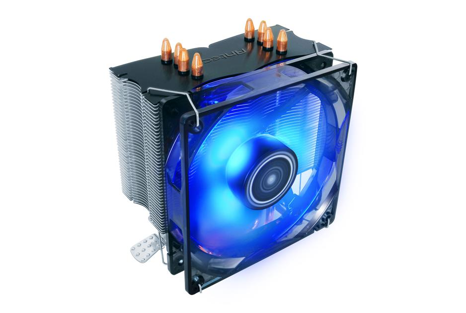 Antec C400 120mm Blue LED CPU Cooler Quad Heatpipe - All Intel & AMD