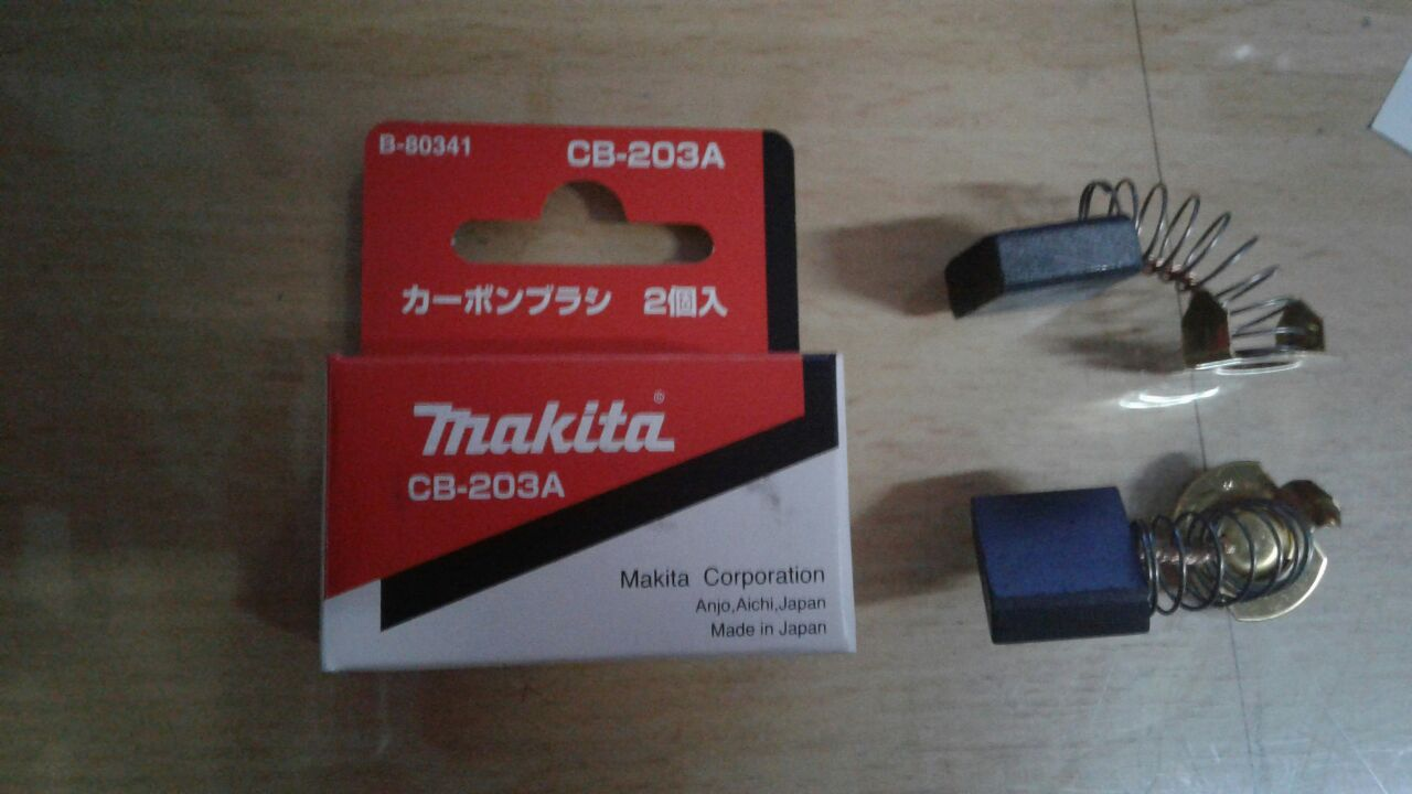 CB203A Carbon Brush / Arang Sepul Makita Maktec Cb 203