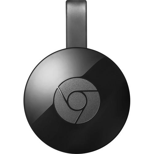 Google Chromecast 2 (2015) HDMI Streaming Media Player - Black