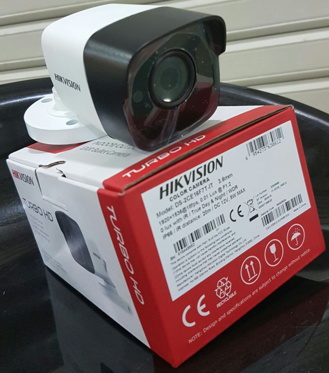 kamera turbohd outdoor 3mp hikvision ds 2ce16f7t it
