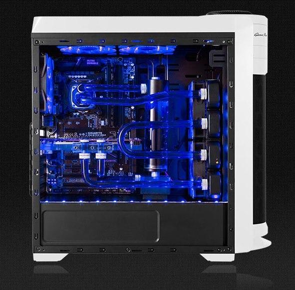 cube gaming vantage white