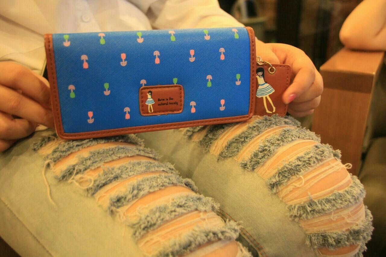 Jual Jims Honey Wallet Dolly Navy Dompet Wanita Import Premium Ligp Tokopedia