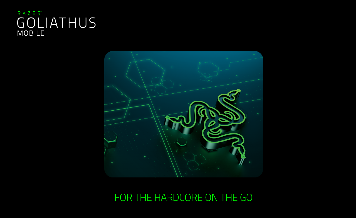 Razer Goliathus Mobile Edition Gaming Mouse Mat Steelseries Qck W 450 X L 400 H 2mm At A Mere 15 Mm Thin The Is Easy To Carry With You Everywhere Can Either Place This Slim Durable