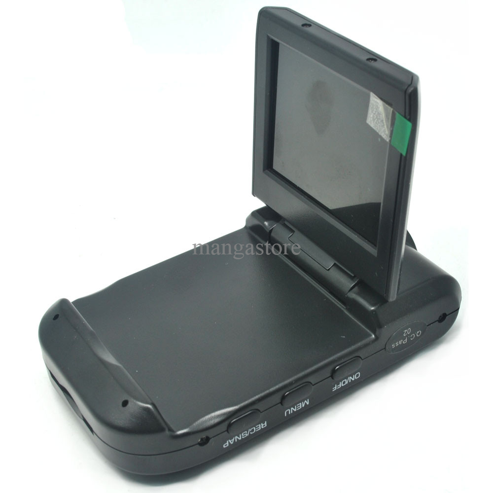 Car Recorder Mini Vehicle DVR With 2.5 Inch TFT LCD