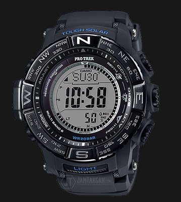 Casio Pro Trek PRW-3510Y-1DR Tough Band Silicon Band Wave Ceptor