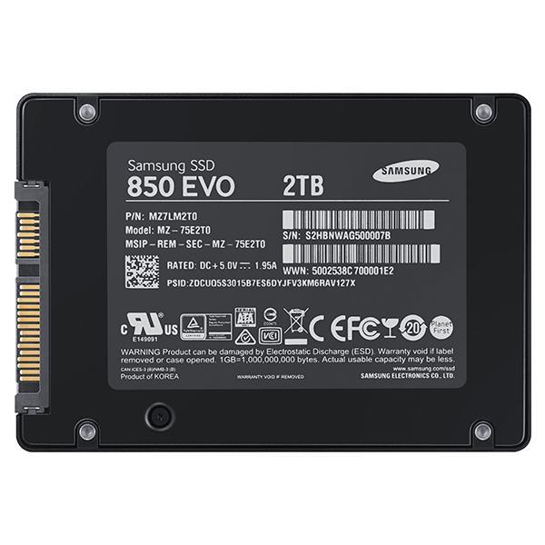 Ssd Samsung Evo 850-2 Tb