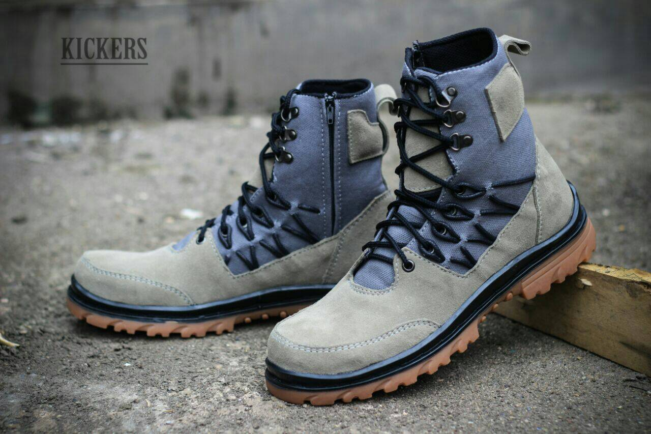 kickers delta suede safety #3 Murah