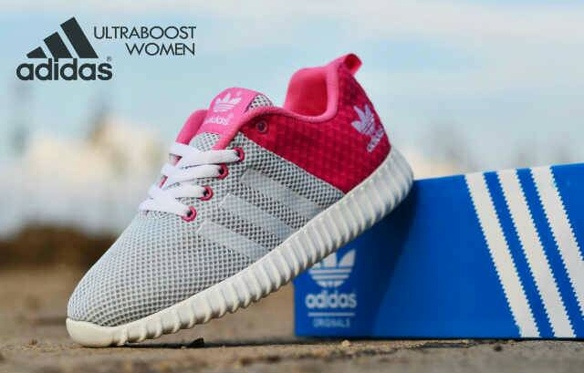 adidas ultra boost women grey Murah
