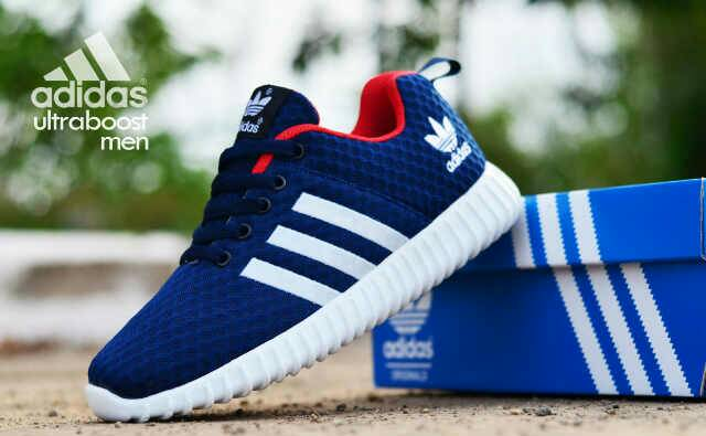 adidas ultra boost men navy Murah