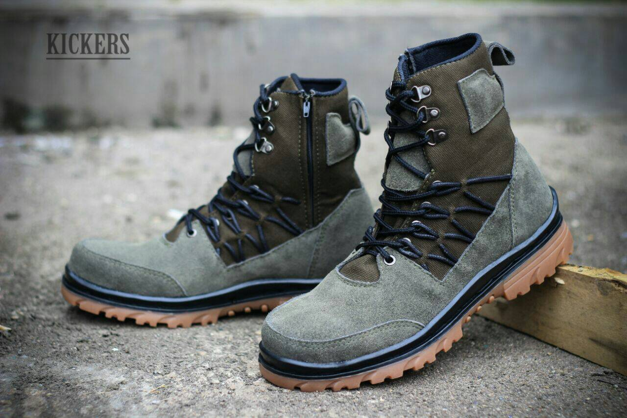 kickers delta suede safety #7 Murah